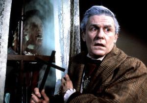 rabenschwarze Nacht, Die - Fright Night / Fright Night USA 1985 Regie: Tom Holland Darsteller: Roddy McDowall Rollen: Peter Vincent